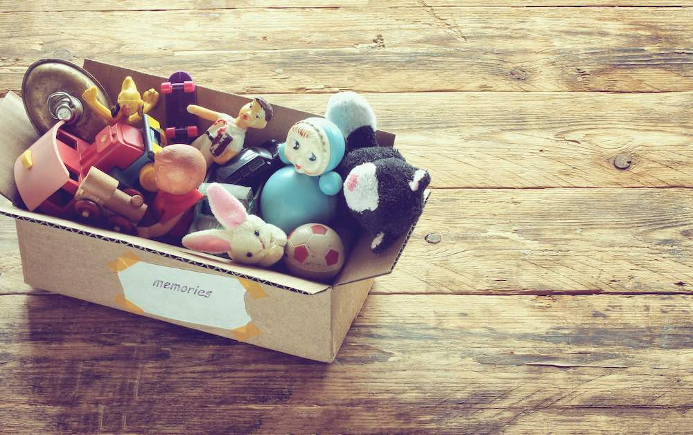 Memory Box of Toys
