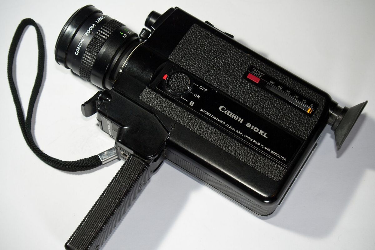 A super 8 camera could come as a surprise